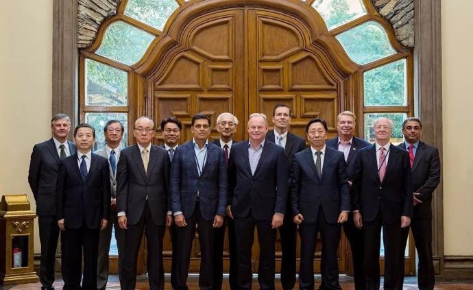 陈德荣在世界钢铁协会会议上倡议:成立全球绿色低碳冶金联盟