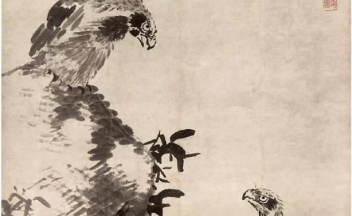 """八大山人与历代名家""""隔空对话"""",双鹰图、花石游鱼等首展"""