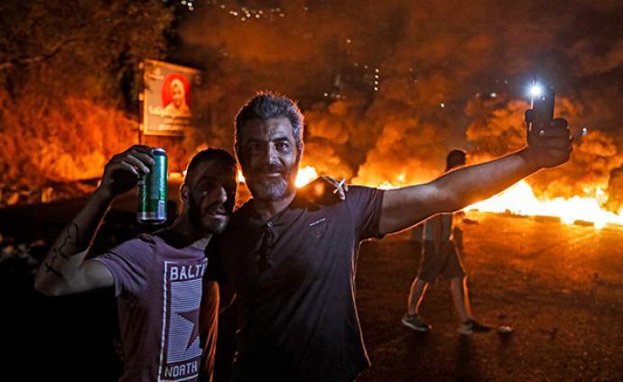 大型蹦迪现场?黎巴嫩狂欢式抗议背后的经济危机和政治僵局