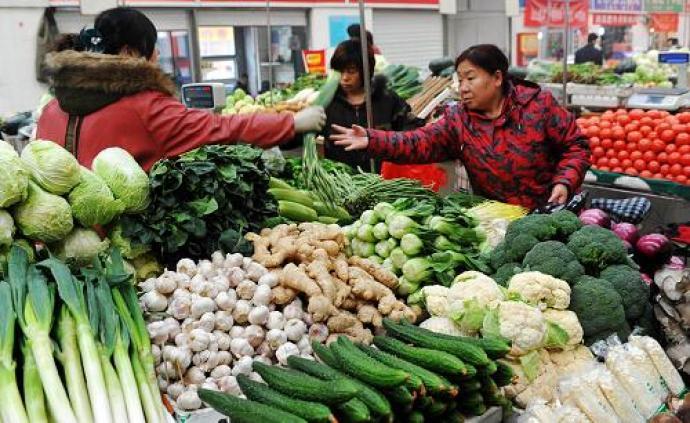 上周食用农产品价格上涨2.6%,生产资料价格下降0.4%