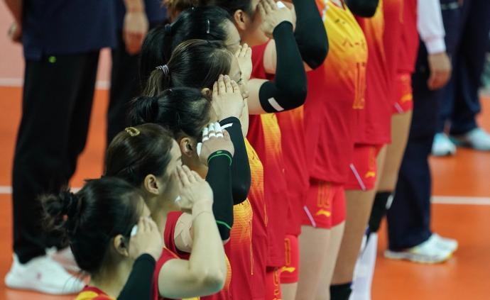 中国八一女排1-3遗憾不敌巴西,无缘军运会冠军