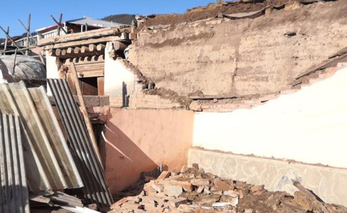 甘肃夏河县5.7级地震致21人受伤,3人住院治疗伤情平稳
