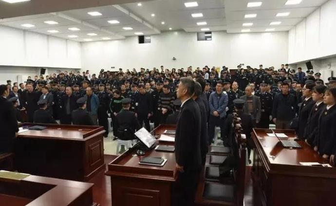 安徽蚌埠刘氏兄弟等人涉黑案一审宣判,最高获刑25年