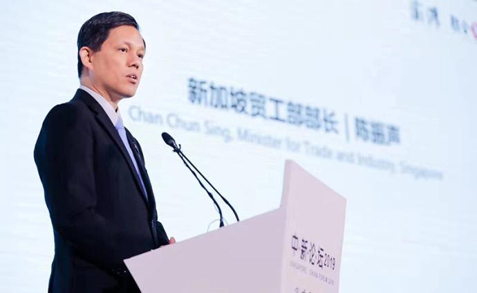专访|新加坡贸工部长谈RCEP:令人鼓舞,不仅大还多元化
