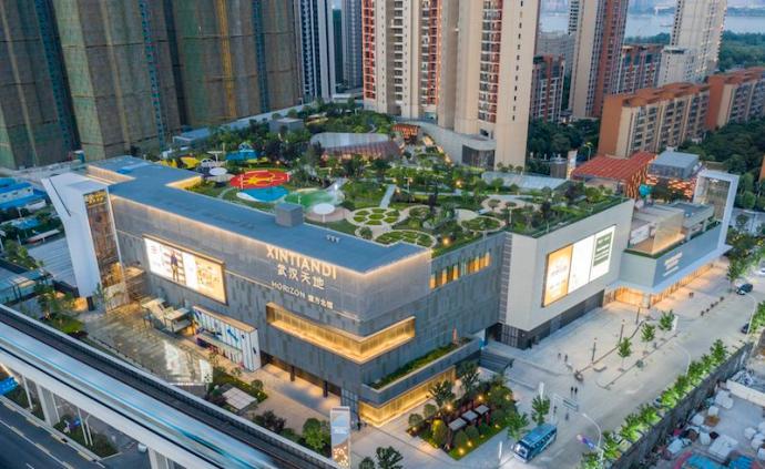 武漢天地壹方北館開幕:城市的公園式社交空間