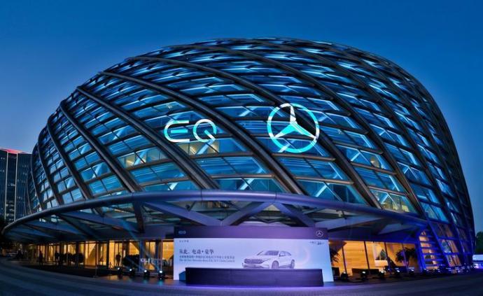 電動車從此豪華,奔馳首款純電車EQC國內上市