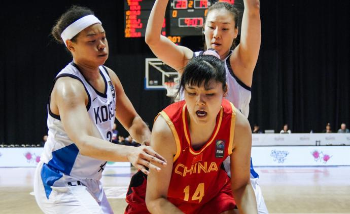 中國女籃1分不敵韓國!晉級奧運受阻,我們又要打生死戰了