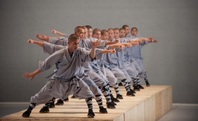 上海國際藝術節 《舞經》的誕生:少林武僧×當代舞
