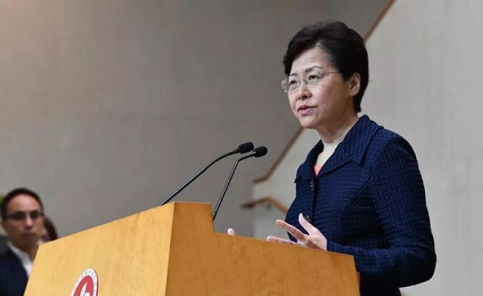 林鄭月娥強烈譴責針對香港律政司司長的襲擊