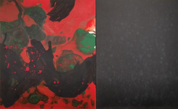 """李磊""""转型"""":首展伦敦,""""诗象""""呈现抽象中的中国文化本源"""