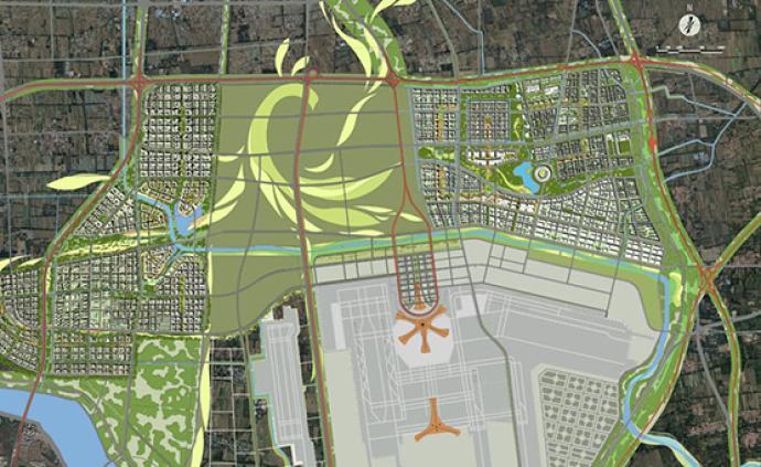 北京大興國際機場臨空經濟區地名規劃方案開始公示