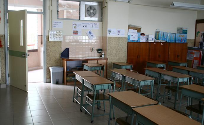 香港教育局宣布全港學校18日繼續停課,最快19日復課