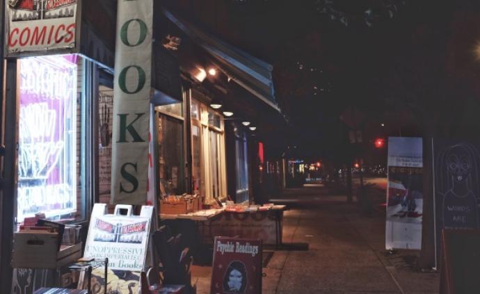 一間非壓迫性反帝國主義者特價書店,一個正在消逝的紐約