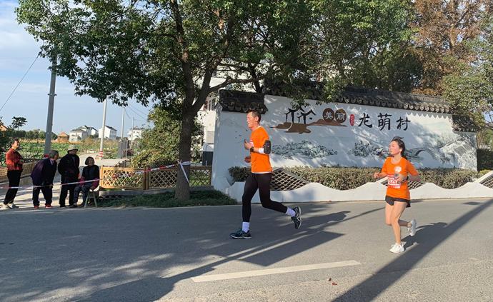 長三角觀察|從平湖廣陳至金山廊下,浙滬聯手打造鄉村馬拉松