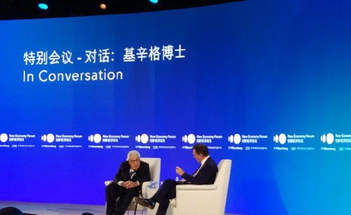 基辛格:希望中美貿易談判取得成功