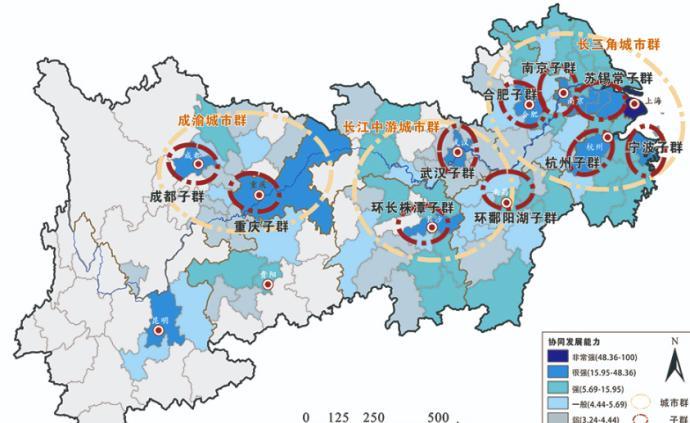 長江經濟帶城市協同發展能力指數發布,上海連續五年位居榜首