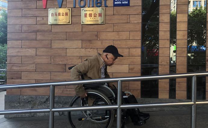 """""""輪椅騎士""""郭兵:在1.06米的視界里倡導無障礙設施改進"""