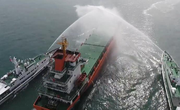 直擊丨海警艦艇在粵港海上邊界高頻度開展巡邏管控