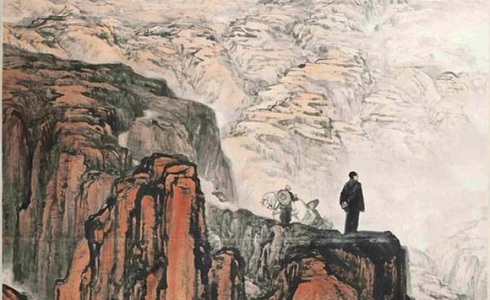 最完整的石魯藝術展將現國家博物館,《轉戰陜北》領銜