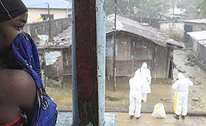 """世卫组织:埃博拉病毒未向他国蔓延,""""出现令人鼓舞迹象"""""""