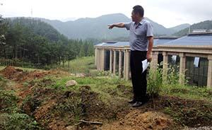 黄山红军战壕遗迹遭温泉度假区破坏,已无法完全修复