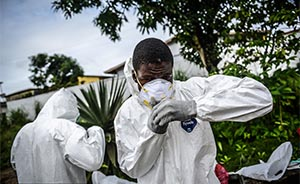 利比里亚:一名接受埃博拉试验性药物测试的医生死亡