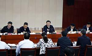 习近平听取兰考县委汇报后强调:反对党内政治生活庸俗化