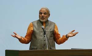 """印度总理莫迪今起访日,外媒称日印欲加强合作""""遏制""""中国"""
