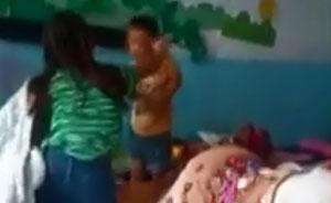 山东幼儿园老师虐打不睡觉男童,扇耳光鞋底敲头被拘留
