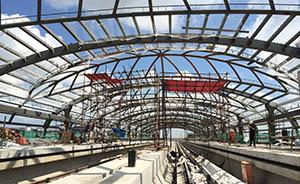 上海迪士尼将有2条地铁可达,11号线明年通车试运营