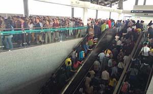 """只有3节车厢,上海地铁""""郊游专线""""16号线被挤爆了"""