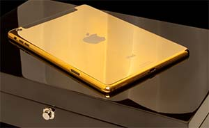 新iPad也有土豪金版?苹果10月16日揭开谜底