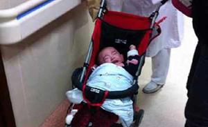 上海再现婴儿被弃医院,市民行车记录仪意外拍到疑似家长