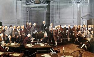 他翻译了美国制宪会议记录