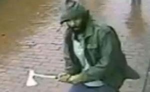 纽约持斧袭警匪徒被击毙,警方称系恐怖袭击