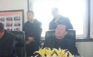 神木一官员见访民时睡着了,当事人:闭目思考是我多年习惯