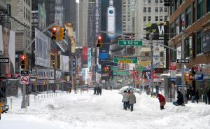 市政厅|纽约的暴雪警报:城市安全如何以人为本