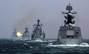 中俄军演进入实战阶段,首个演习科目锚地防御展现军事互信