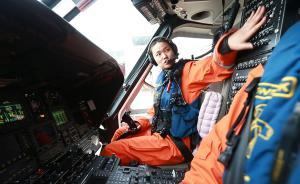 中国首批两名搜救直升机女机长上岗:已挽救近200条生命
