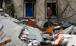 上海老式居民楼坍塌调查:拆迁公司老板被指私自租售待拆房屋