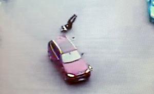 """""""上海交警被拖行致死""""视频曝光:肇事司机不听指挥突然加速"""