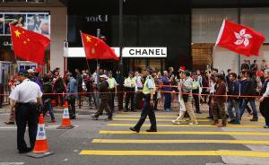 """""""港产""""英籍华人谈反水货客游行:香港是大都会勿沦为大笑话"""