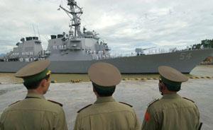 美国海军欲借机重返亚太,增加军舰访问越南次数