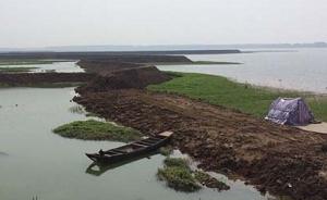 湖南岳阳采桑湖一半湖水被放,政府只管收租不管保护