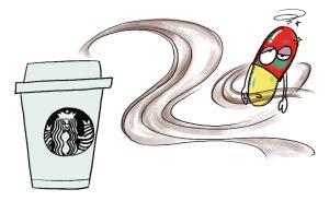 【问答】常喝咖啡会使药物的吸收受到影响吗?