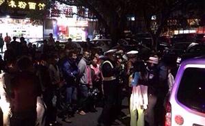 深圳一女子酒后驾驶假军牌车,发生事故后拒下车水泼交警