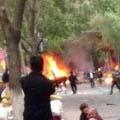 乌鲁木齐早市发生爆炸