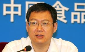 郭文奇任国家食药监总局党组成员,此前曾处理瘦肉精事件