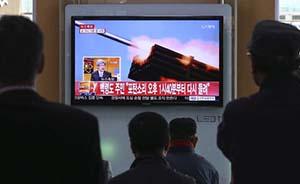 韩媒:朝鲜向延坪岛韩军巡逻舰附近开炮