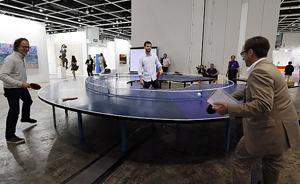 香港巴塞尔艺博会:世界艺术进军亚洲